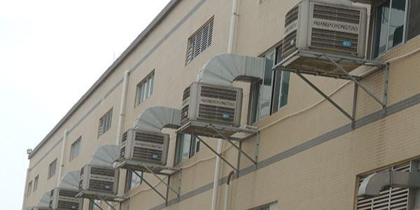 工业厂房换风降温设备厂家[ZLG理工]提供师傅免费上门勘察