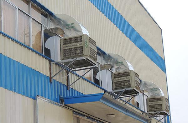 开放式厂房夏季车间降温冷风机